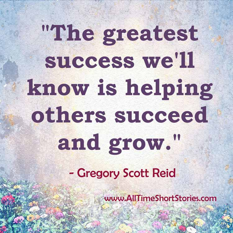 quote about success and helping