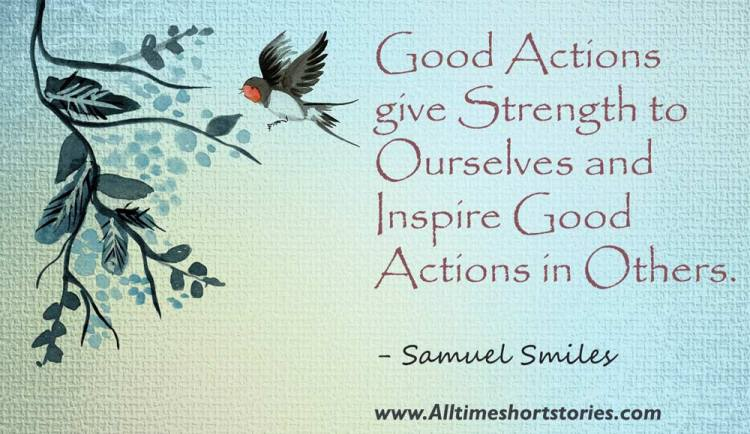 Quote about good Action