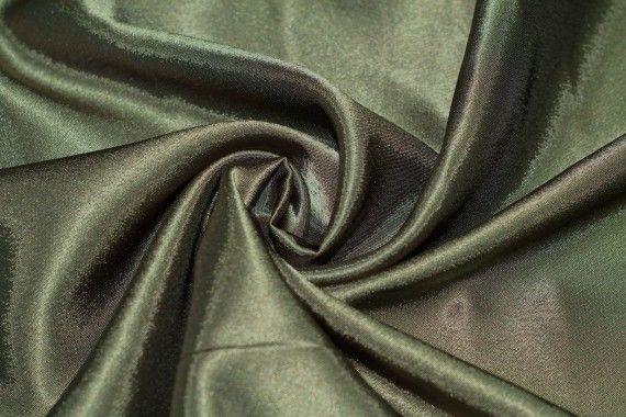 tissu doublure satin kaki grande largeur au metre