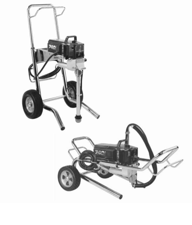 740i Airless Sprayer : Titan, Speedflo, Wagner, Spraytech