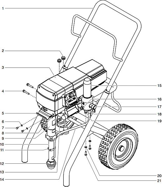 840ix Digital Airless Sprayer : Titan, Speedflo, Wagner