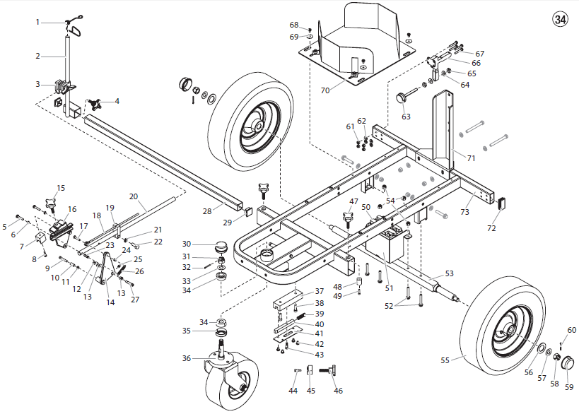 PowrLiner 8950 Cart Assembly I : Titan, Speedflo, Wagner