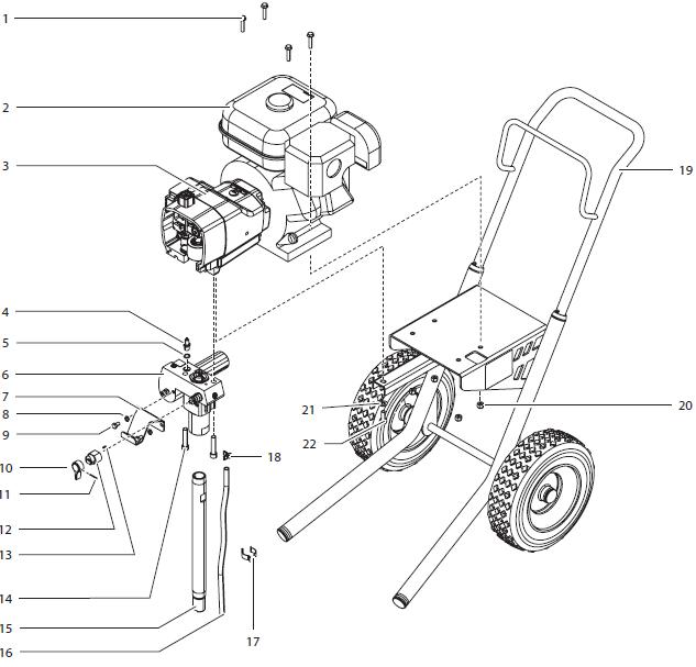 Advantage GPX 85 Gas Piston Pump : Titan, Speedflo, Wagner
