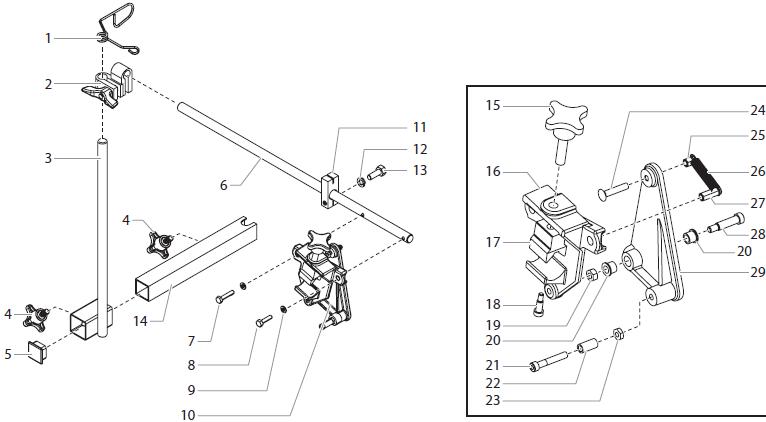 SPEEFLO PowrLiner 2850 Parts : Titan, Speedflo, Wagner