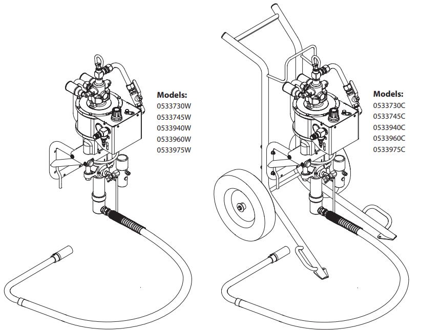 PowrCoat 745 : Titan, Speedflo, Wagner, Spraytech parts