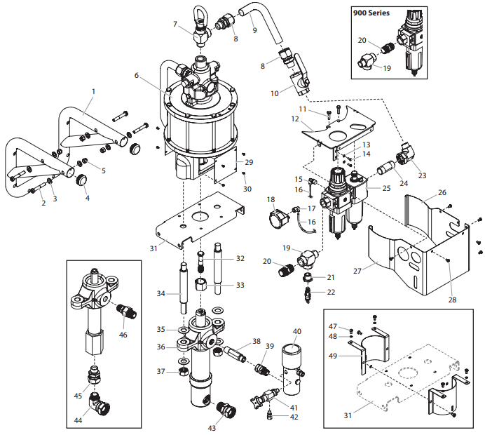 PowrCoat 940 : Titan, Speedflo, Wagner, Spraytech parts