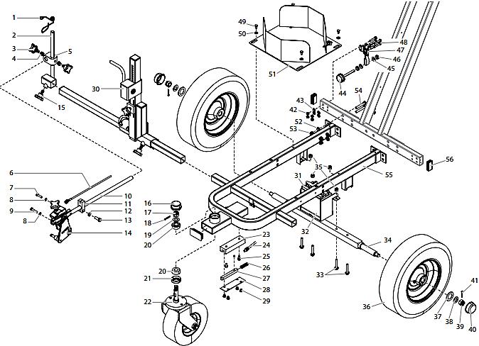 PowrLiner 4955 Cart Assembly I : Titan, Speedflo, Wagner