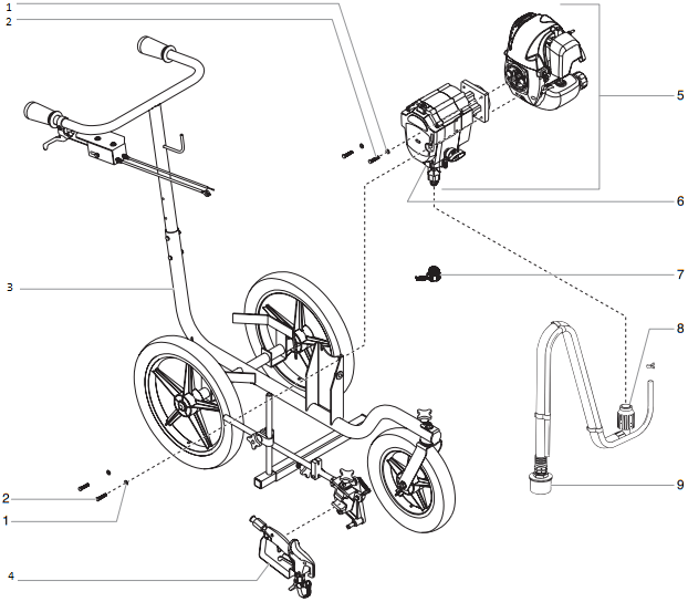 SPEEFLO PowrLiner 800 Parts : Titan, Speedflo, Wagner