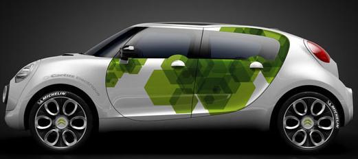 Konceptbilen C-Cactus i sin senaste inkarnation. Designavdelningen har avslutat arbetet med interiören av den kommande produktionsklara versionen.