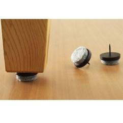 Chair Leg Glides For Wood Floors Teak Folding Chairs 32 Pc Furniture Table Floor Felt Pad Skid Glide Slide Nail Protector | Ebay