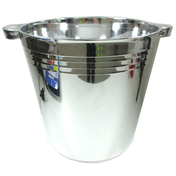 Plastic Reusable Ice Buckets 5.9l Tubs Cooler Wine