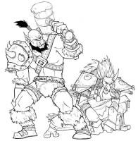 World Of Warcraft Ausmalbilder