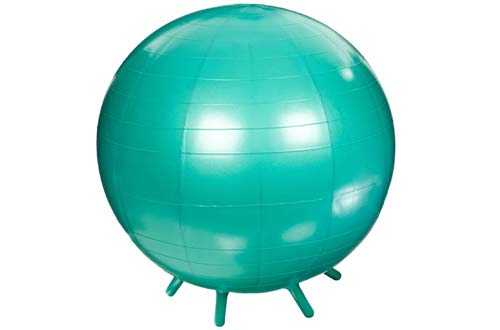 bouncy ball chair varaschin hanging top 10 best exercise chairs stability balls for office in 2019 abilitations six leg 26 inches