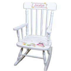 Pink Toddler Rocking Chair Green High Top 10 Best Chairs Reviews In 2019 Children S Personalized White Owl