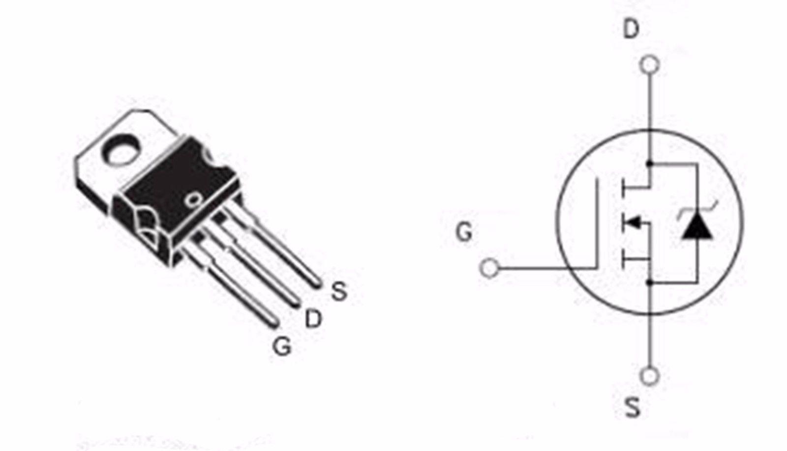 5 X Fqp30n06 60v N Channel Enhancement Mode Power Mosfet