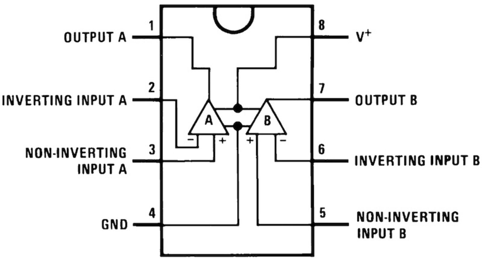 5 X Lm358 Dip8 Dual Operational Amplifier