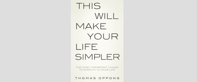 This will make your life simpler_book