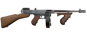 2nd Most Dangerous Gun in the world : Thompson M1921 Sub-machine Gun
