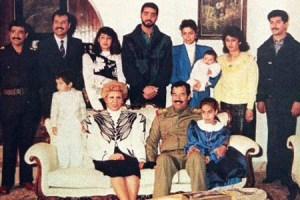 Hussein's family