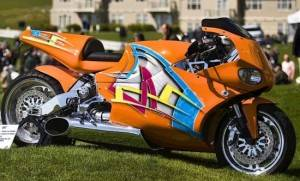 MTT Turbine Streetfighter with Rolls Royce Turbine Engine – $175,000