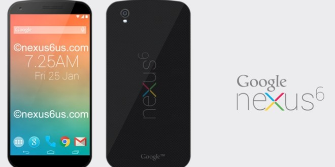 2nd most anticipated Upcoming Android Smartphone In 2014 : Google Nexus 6