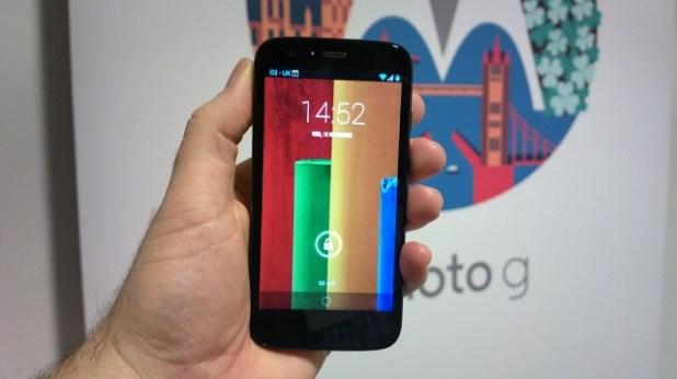 Moto G Lock Screen