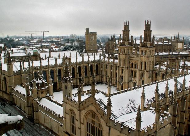 Оксфордский университет : лучшие университеты мира