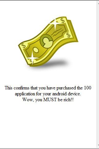 100 Dollar App ($111.05)