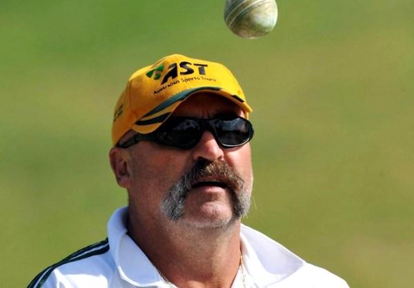 Merv Hughes' Mustache