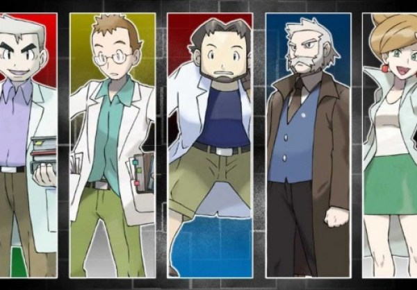 Pokemon Professors and their names