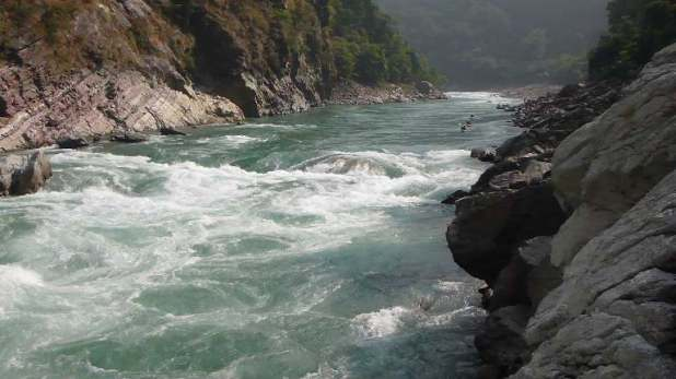 The Karnali River Nepal