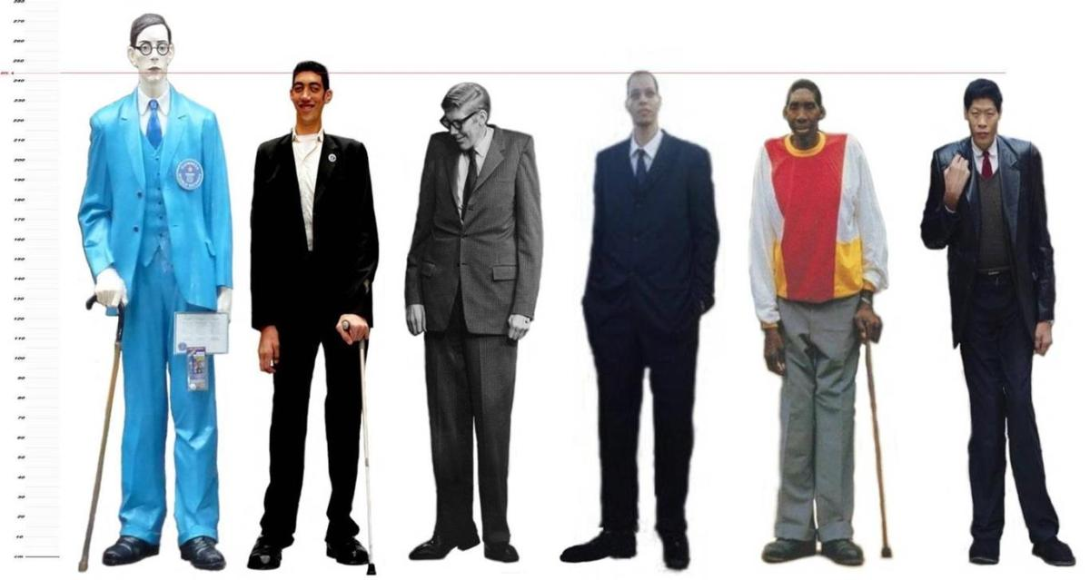 Top Ten Tallest People Currently Alive around the World