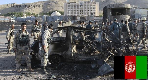 2-й наиболее опасные страны : Афганистан