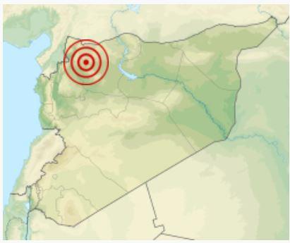 Землетрясение в Алеппо 1138