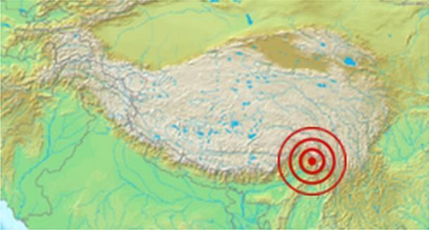 Ассам и землетрясения в Тибете