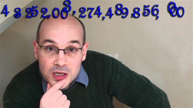 В 3х3х3 Кубик Рубика имеет 43 возможных конфигураций Квинтилиан