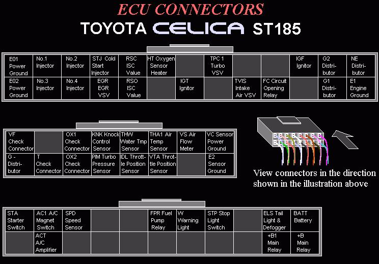 Accord Engine Wiring Harness Diagram Celica All Trac Amp Gt Four Online Documents