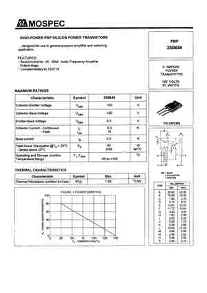 2SB681 Datasheet, Equivalent, Cross Reference Search