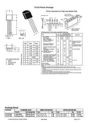 A952 Datasheet, Equivalent, Cross Reference Search