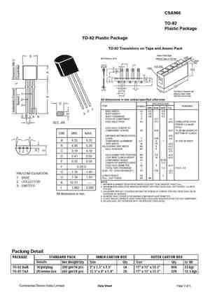 A966 Datasheet, Equivalent, Cross Reference Search