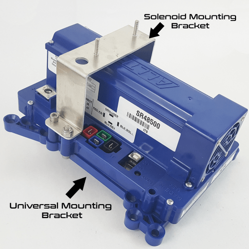 small resolution of sr controllers ordered for ez go come with the universal mounting kit solenoid mounting bracket and hardware