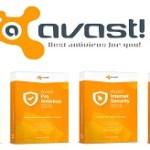 Avast Antivirus 1 year free key