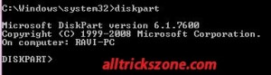Create Usb boot from diskpart