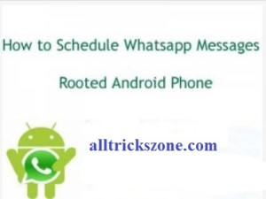 Schedule Whatsapp Messages
