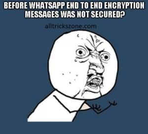 whatsapp end-to-end encryption mode
