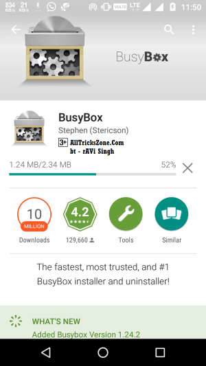 how to install busybox via app