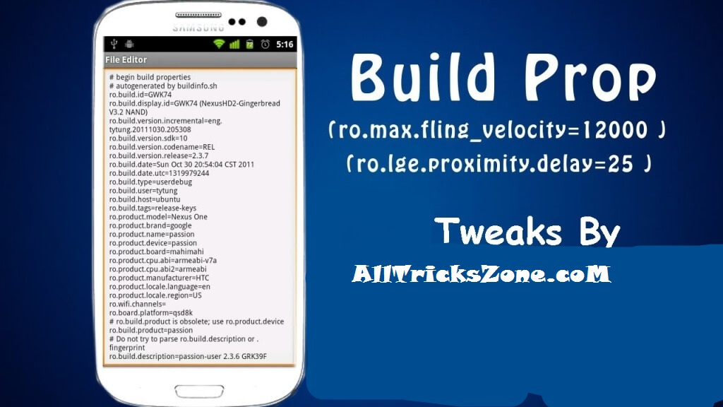 build prop tweaks for rooted android phone