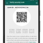 WhatsApp end-to-end Encryption