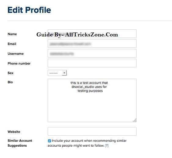 Guide to instagram bio center