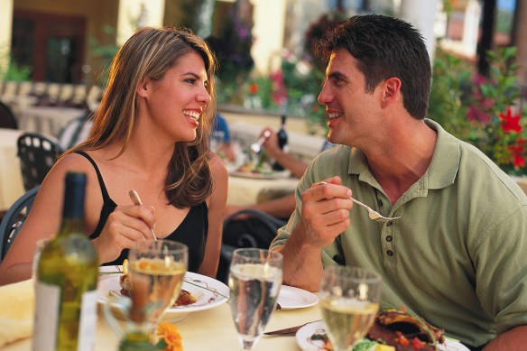 Couple Dining